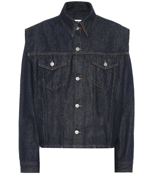 MM6 Maison Margiela Denim jacket in blue