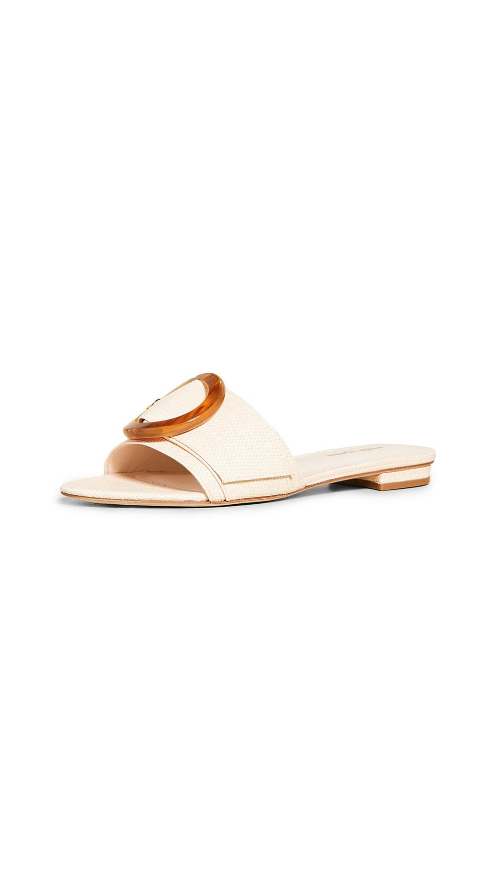 Cult Gaia Lani Sandals in natural
