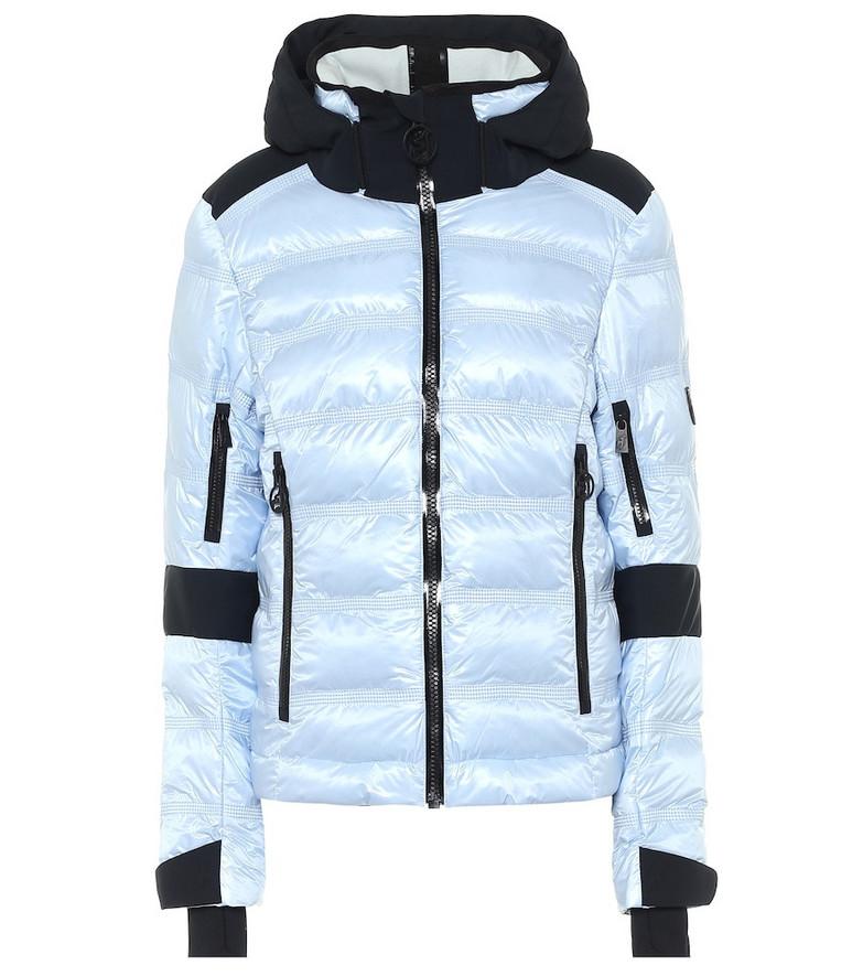 Toni Sailer Tami hooded ski jacket in blue