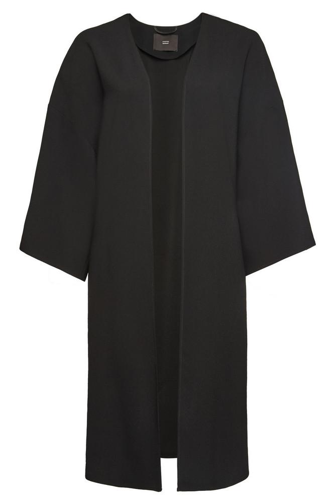 Steffen Schraut Ligthweight Coat  in black