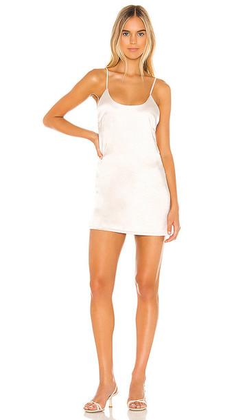 superdown Marilyn Mini Dress in Ivory