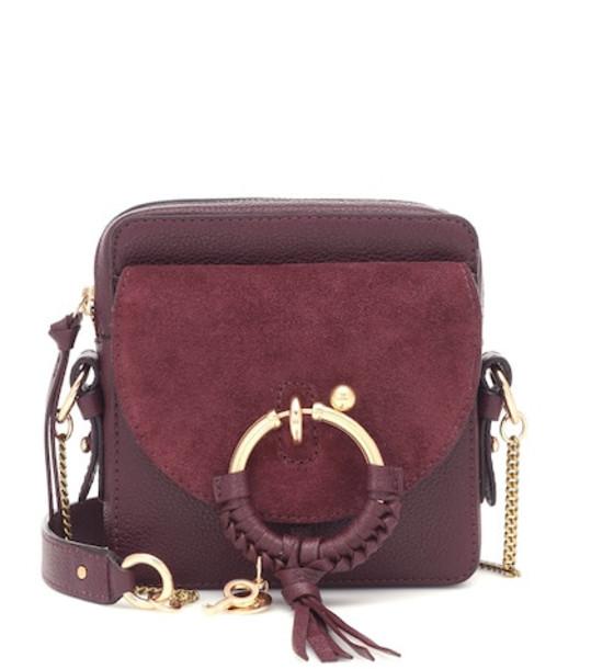 See By Chloé Joan Mini Camera crossbody bag in purple