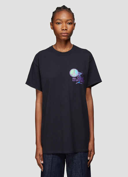 Good Morning Tapes Shroom T-Shirt in Black size S