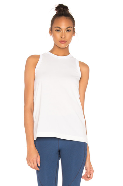 LNDR Loose Tank in white
