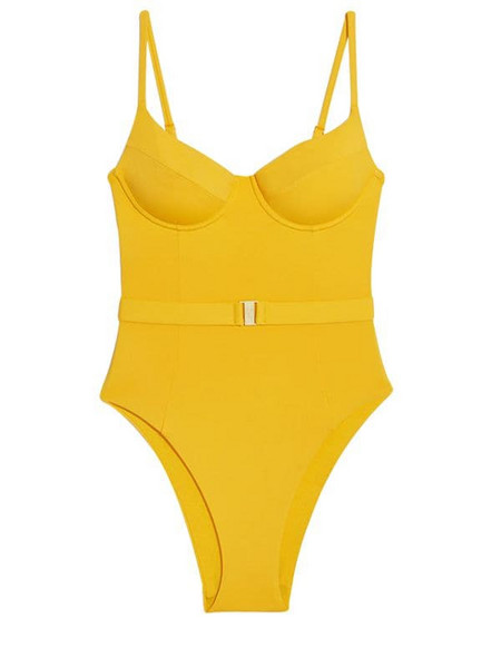 ONIA X WEWOREWHAT Danielle One Piece Swimsuit
