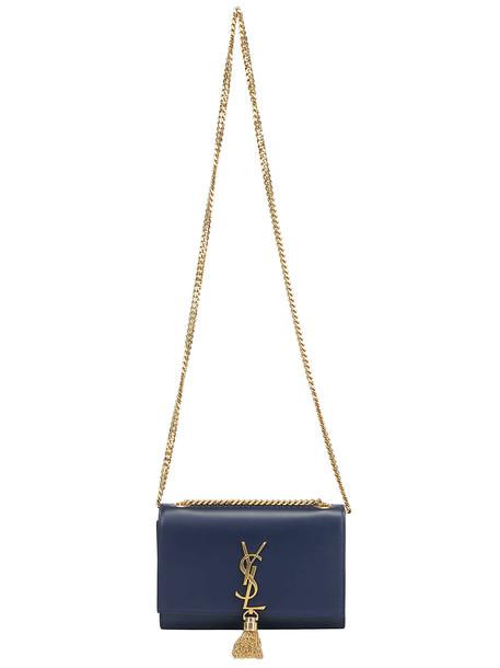 Saint Laurent Kate Shoulder Bag in cobalt