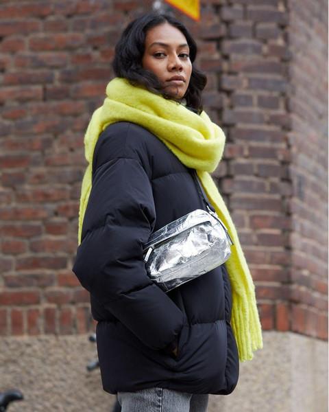 coat scarf bag