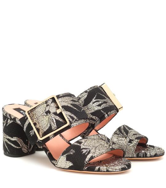 Rochas Brocade sandals