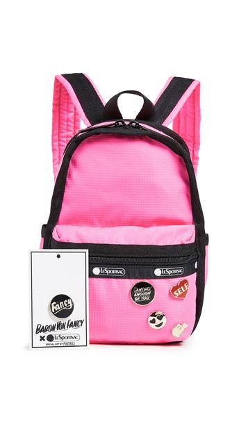 LeSportsac x Baron von Fancy Mini Backpack in magenta