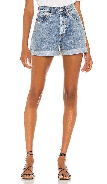 ANINE BING Florence Short in blue