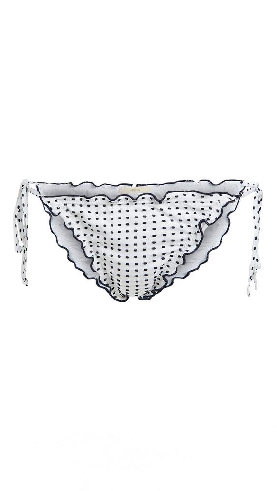 Eberjey Avalon Bikini Bottoms in white