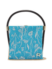 metallic,clutch,blue,satin,bag