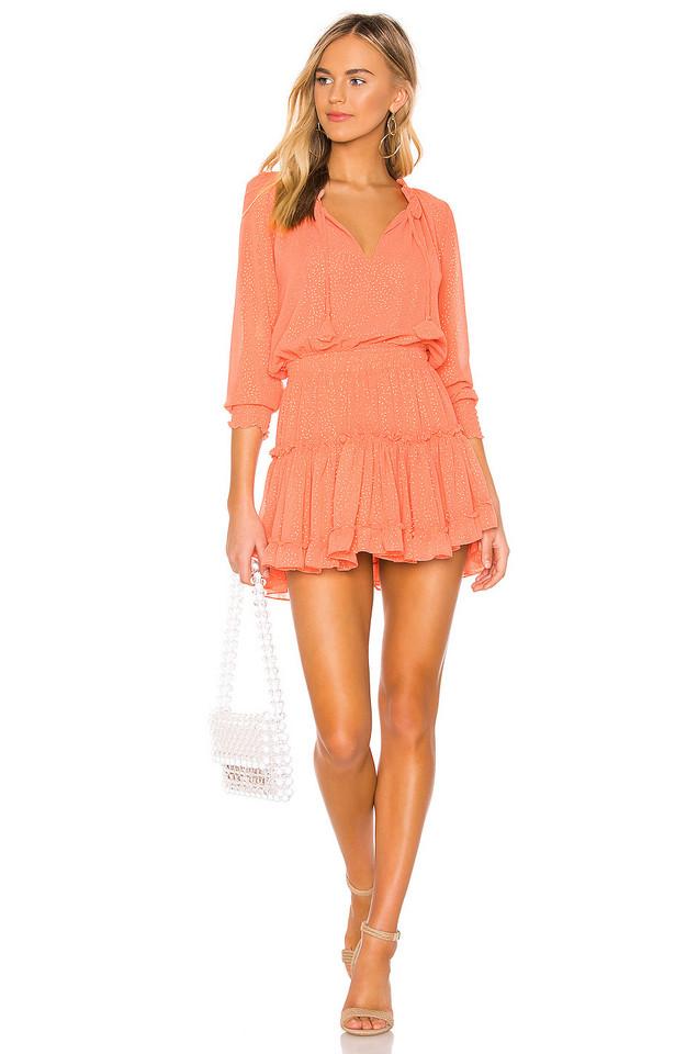 MISA Los Angeles Melodie Dress in orange