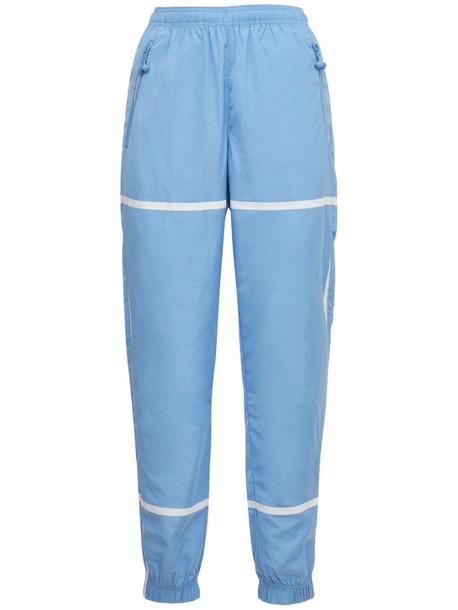 ADAM SELMAN SPORT Taped Track Pants in blue