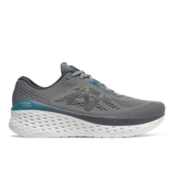 New Balance Fresh Foam More Men's Neutral Cushioned Shoes - Grey (MMORDO)