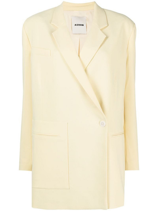 Aeron Bartok Georgette blazer in yellow
