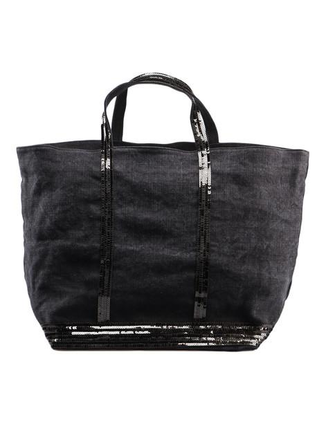 Vanessa Bruno Sequin Embellished Tote in noir