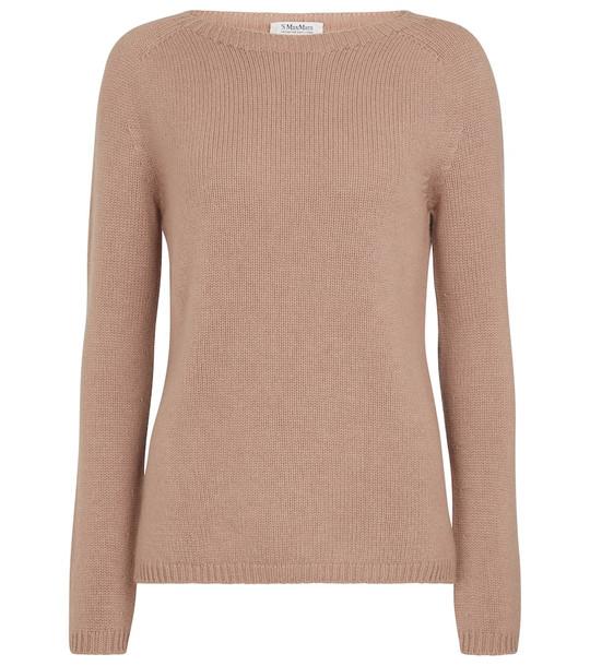 'S Max Mara Giorgio cashmere sweater in beige
