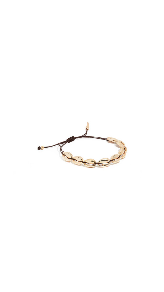 Maison Irem Saint Barth Shell Bracelet in gold