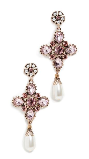 Shashi Empress Earrings in pink