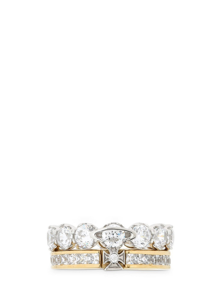 VIVIENNE WESTWOOD Becky Ring in gold
