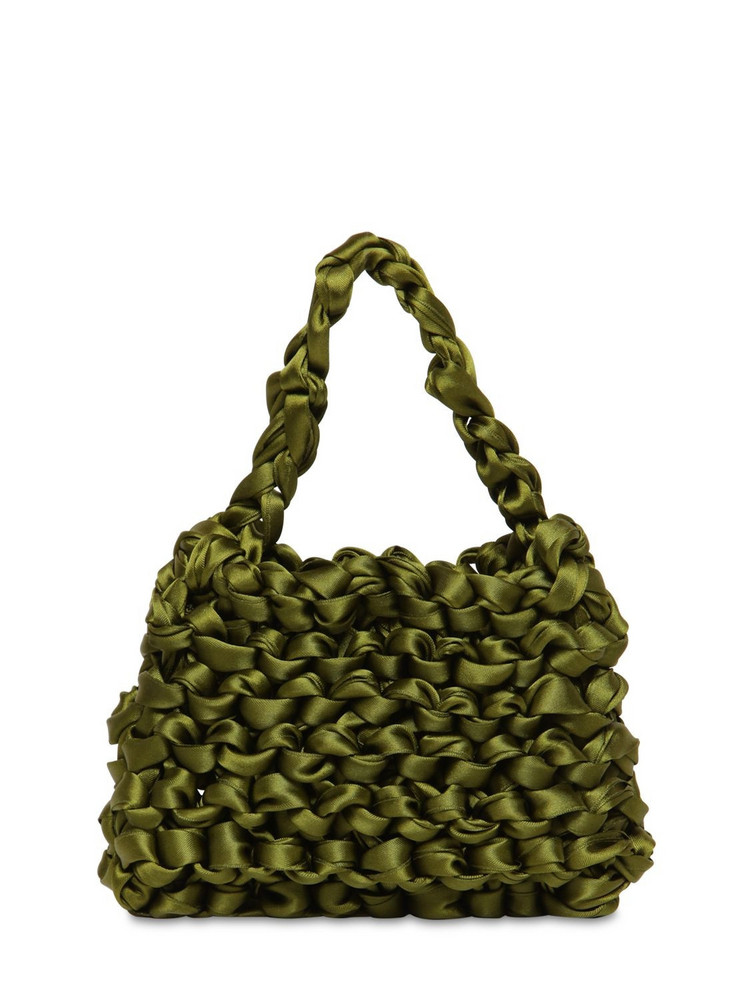 MIISTA Theodore Mini Knotted Satin Bag