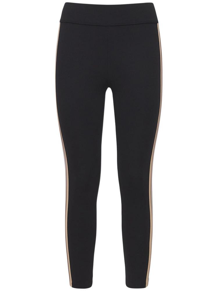 NO KA'OI Color Block 7/8 Leggings in black