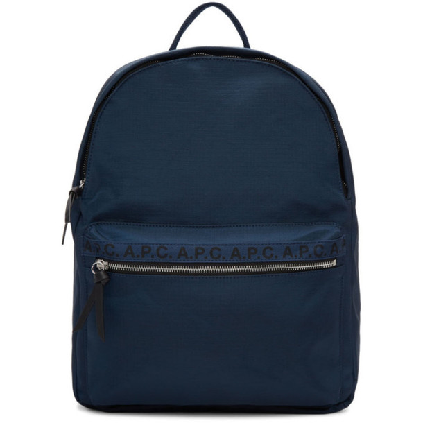 A.P.C. A.P.C. Navy Marc Backpack