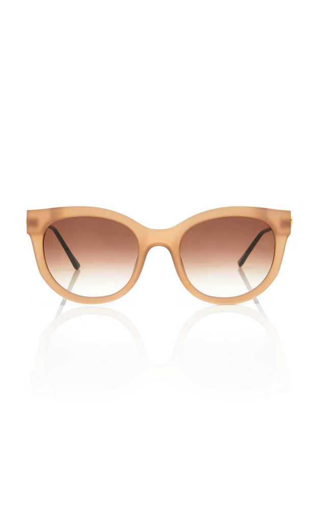 Thierry Lasry Lively 864 Cat-Eye Acetate Gold-Tone Sunglasses in neutral