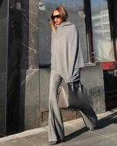 pants,grey pants,flare pants,grey boots,grey bag,zara,sunglasses