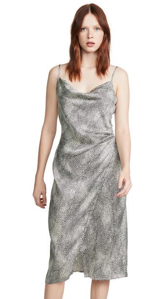 re:named re: named Leopard Slip Dress