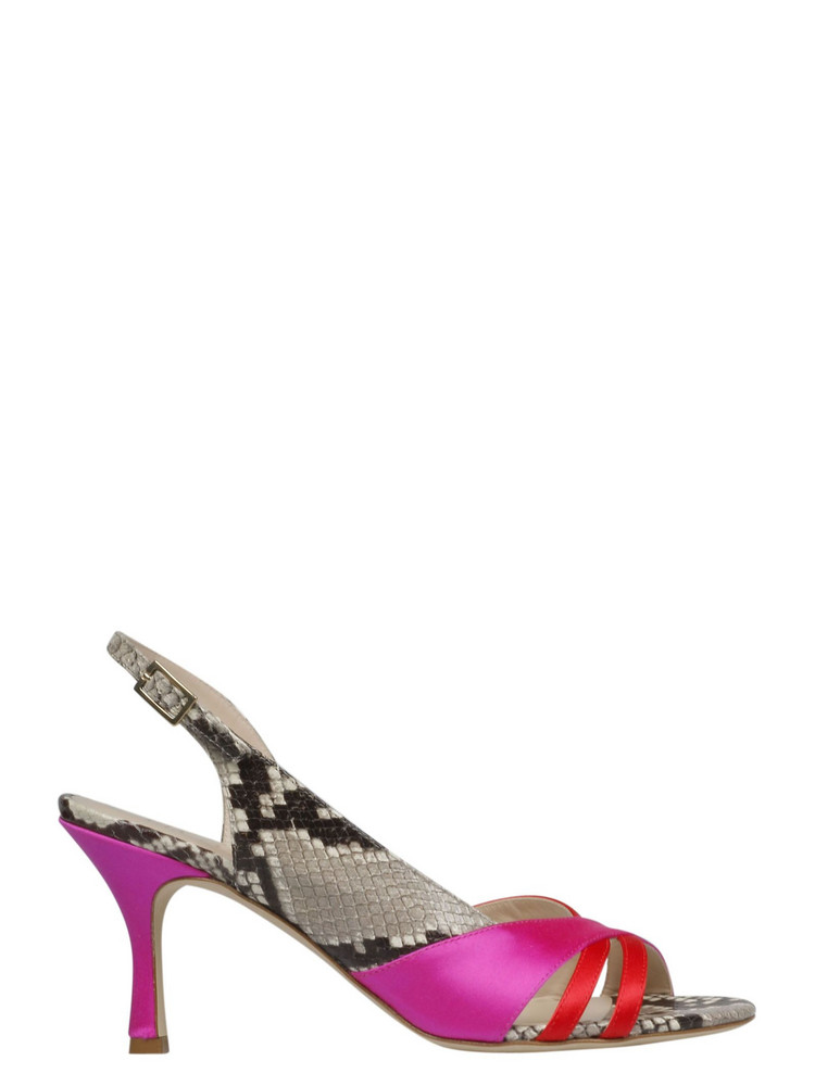Gia Couture Frida Sandals in red