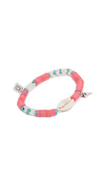 DANNIJO Concho Shell Bracelet in pink