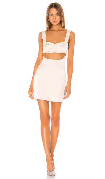 superdown Rina Cut Out Dress in Ivory