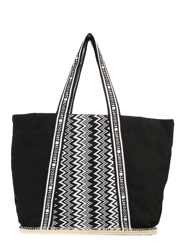 Castañer Striped Bag in black