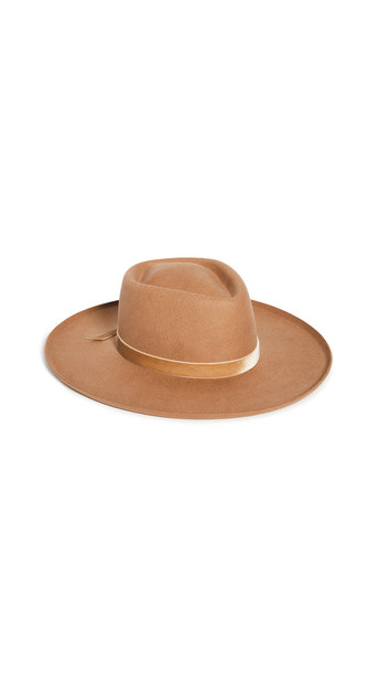 Lack Of Color Val Diamond Hat in brown