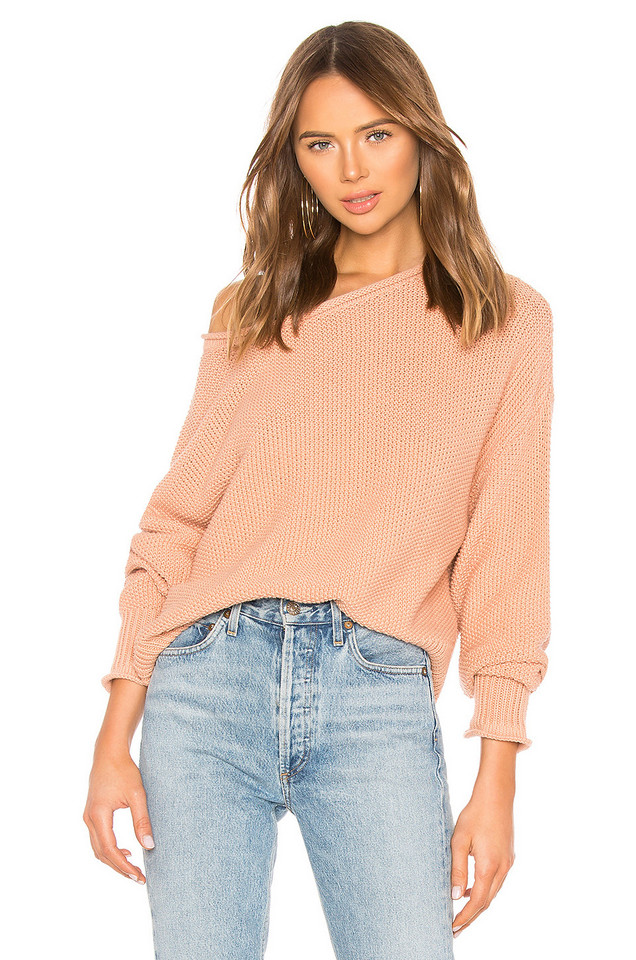 360CASHMERE Remy Sweater in pink