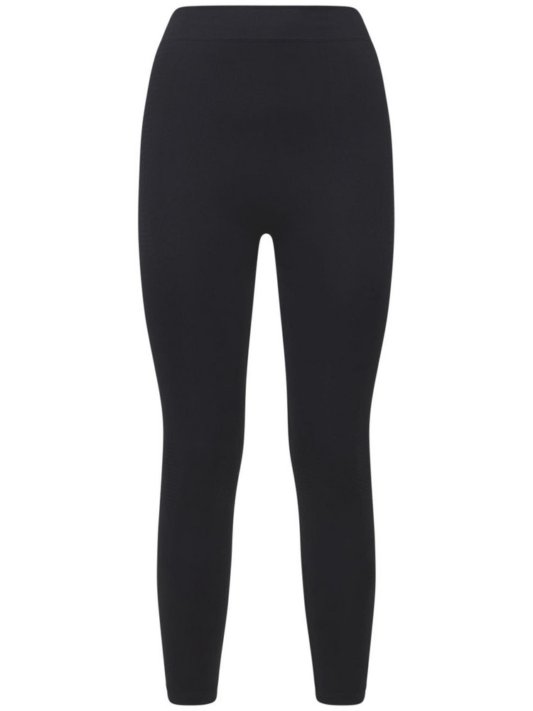 RICK OWENS Stretch Jersey Active Leggings in black