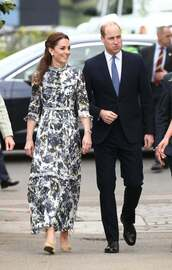 dress,maxi dress,spring dress,celebrity,kate middleton,floral,floral dress