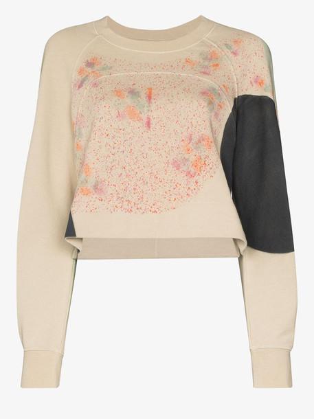 Eckhaus Latta Splatter print sweatshirt