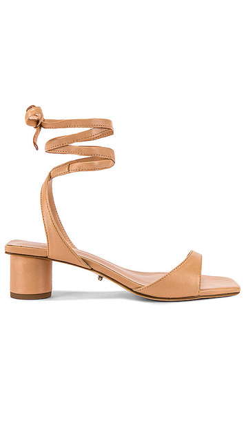 Tony Bianco Patina Strappy Sandal in Beige