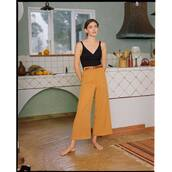 pants,yellow pants