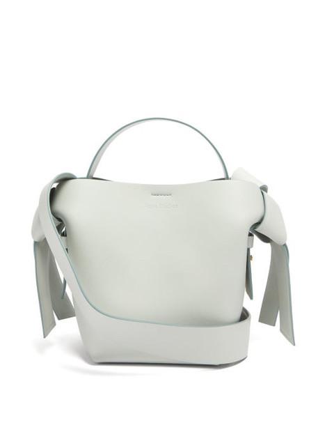 Acne Studios - Musubi Mini Leather Tote Bag - Womens - Light Blue