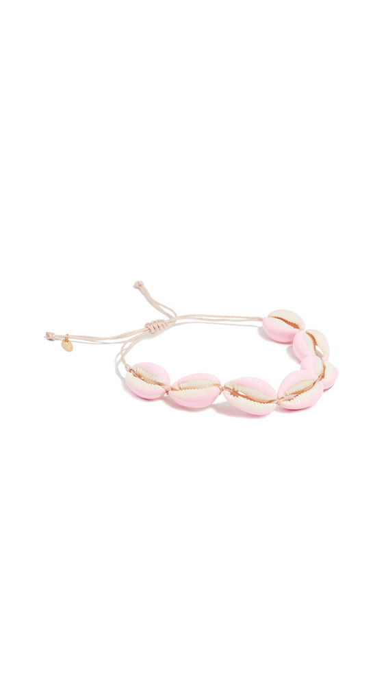 Maison Irem Full Pino Colored Shell Bracelet in pink