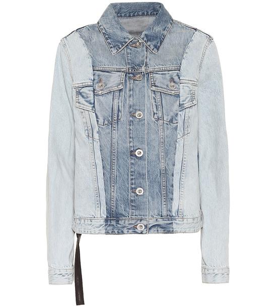 Unravel Denim jacket in blue