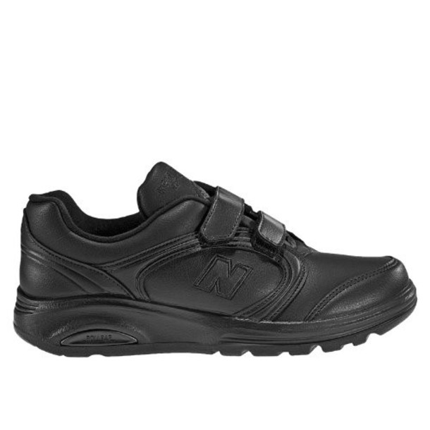 New Balance Hook & Loop 812 Women's Health Walking Shoes - Black (WW812VK)