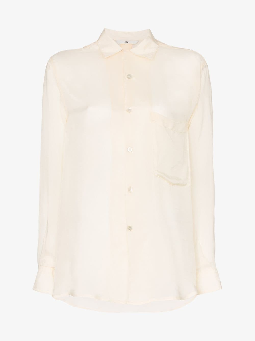 Eytys donovan cotton shirt in neutrals
