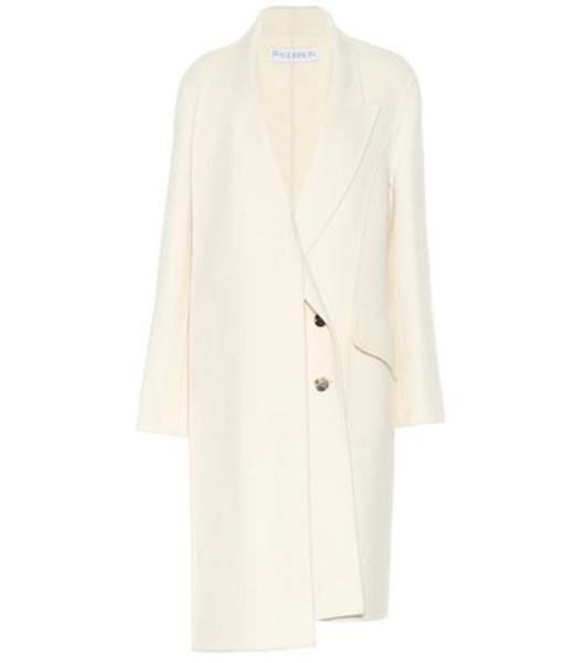 JW Anderson Wool coat in white