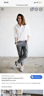 jeans,business casual,grey,androgynous,tomboy,tomboy femme,tomboy outfit,tomboy chic,androgynous style,casual