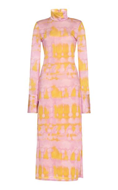 Ellery Seychelles Tie Dye Dress in pink